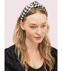 kate spade new york garden gingham silk headband
