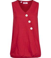 top a portafoglio con elastico (rosso) - bpc bonprix collection