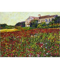 "david lloyd glover early evening at cape cod canvas art - 37"" x 49"""