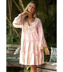 miss june dreamer dress peach/pink