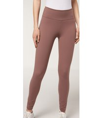 calzedonia ultra light active leggings woman pink size l