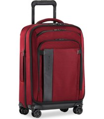 "briggs & riley zdx 22"" carry-on expandable spinner"