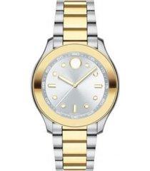 reloj movado 3600418 multicolor acero inoxidable