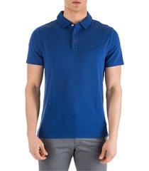 michael kors short sleeve t-shirt polo collar