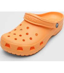 babuche crocs classic clog laranja