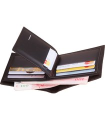 cartera para hombre- cartera monedero billetera-negro