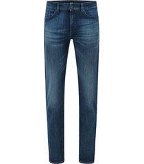 mid-rise slim-fit jeans