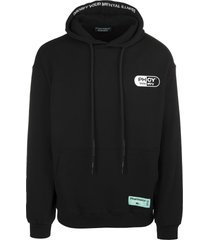 pharmacy industry black man hoodie with maxi logo