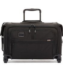 men's tumi alpha 3 wheeled 22-inch carry-on garment bag - black