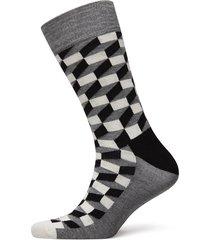 filled optic sock sockor strumpor svart happy socks
