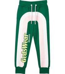 gcds sport cotton trousers