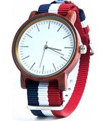 burlesque - drewniany zegarek