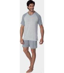 pijama mash de viscose premium masculino