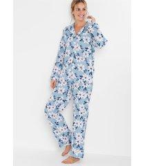 geweven pyjama van flanel (2-dlg. set)