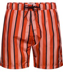 peached swim short with aop zwemshorts rood scotch & soda