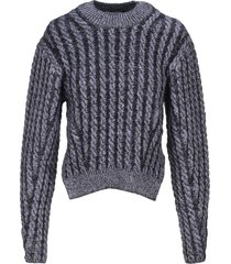 chloe cable knit sweater
