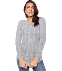 sweater gris nano