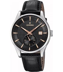 reloj f20277/4 negro festina hombre retro