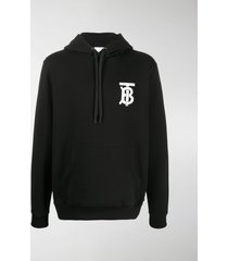 burberry chest logo hoodie