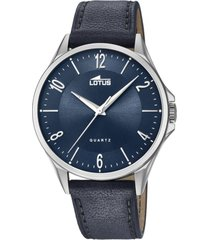 reloj classic azul lotus