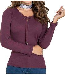 envío gratis blusa lianna morado para mujer croydon
