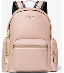 mk zaino nicks piccolo in pelle martellata - rosa tenue (rosa) - michael kors