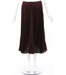 fendi 2019 mohair wool pleated skirt
