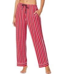 dkny women's printed pajama pants