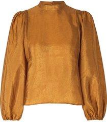 harriet blouse – chemisier à manches bouffantes