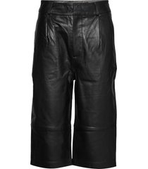 boline leather leggings/byxor svart custommade
