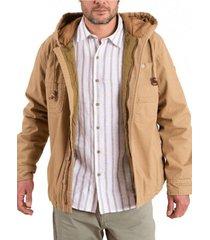 chaqueta algodón orgánico hombre praga camel rockford