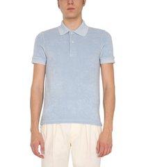 tom ford cotton sponge polo shirt