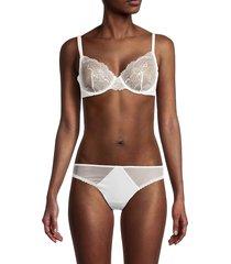 la perla women's lace underwire bra - natural - size 36 b
