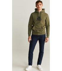bedrukte katoenen warner bros hoodie
