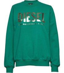 f-ang sweat-shirt sweat-shirt trui groen diesel women