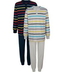 pyjama's babista marine::grijs