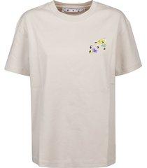 off-white t-shirt check arrows reg
