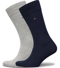 socks 2-pairs underwear socks regular socks grå tommy hilfiger