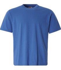 armor lux organic cotton heritage t-shirt | ozero blue | 78990-jn8