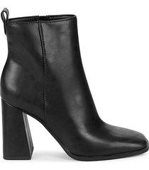 pascha block-heel booties