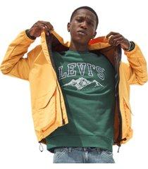 levi's men's graphic crewneck sweatshirt