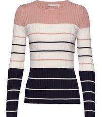 onlnatalia stripe l/s pullover knt noos stickad tröja multi/mönstrad only