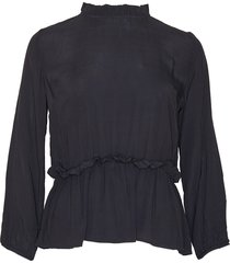 noella noella ova blouse black