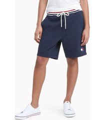 tommy hilfiger women's space jam: a new legacy x tommy jeans sweatshort masters navy - l