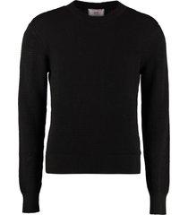 ami alexandre mattiussi long sleeve crew-neck sweater