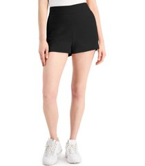 bar iii high-waisted shorts, created for macy's
