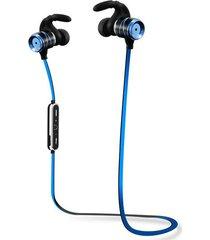 audífonos bluetooth, s3 auriculares inalámbricos audifonos bluetooth manos libres  auriculares impermeables auriculares estéreo bajo auriculares potable auriculares deportivos con micrófono (azul)
