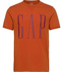 logo dorito t t-shirts short-sleeved orange gap