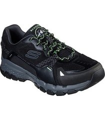 tenis skechers relaxed fit outland 2.0 color negro masculino