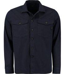 overhemd saturn donkerblauw